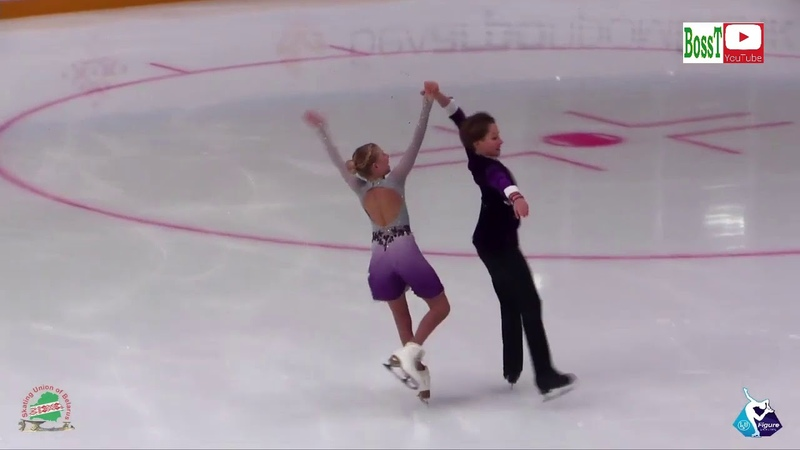Alexandra SHINKARENKO Vladislav MIKHAILOV - PD, Ice Star 2019 Minsk
