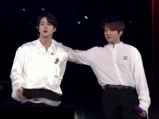 Nothing can stop jinkook from touching each other
