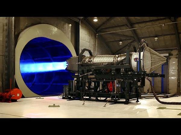 Реактивный двигатель - Тестовые запуски.