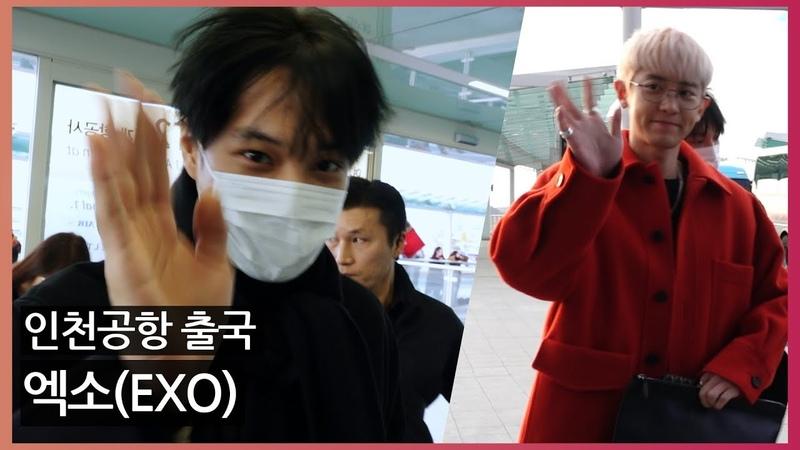 [O! STAR]엑소(EXO)출국, '추위도 물러가는 뜨거운 인기'