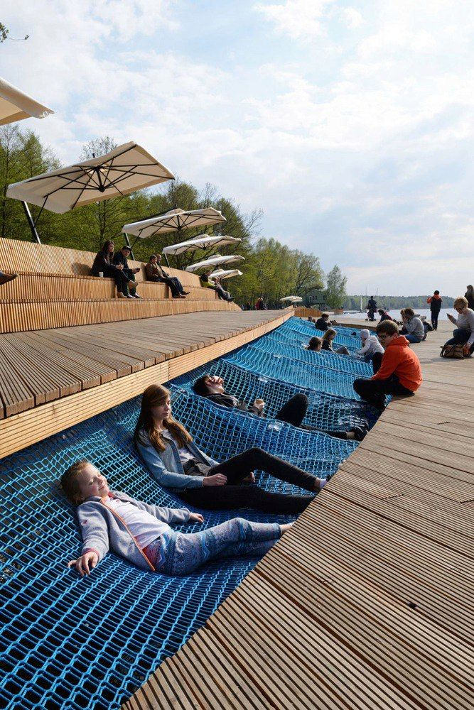 Paprocany Lake Shore Redevelopment by RS