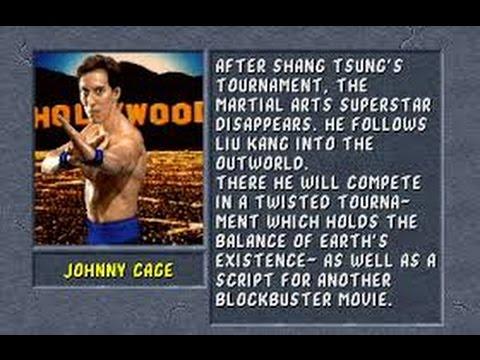 Mortal Kombat II Arcade Johnny Cage Gameplay on Very Hard no Continues