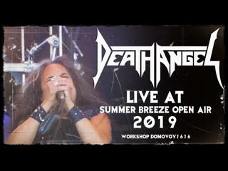 DEATH ANGEL - Live at Summer Breeze Open Air 2019