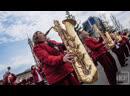 ФАНФАРЫ КАЗАНИ: Проход духовых оркестров по Баумана