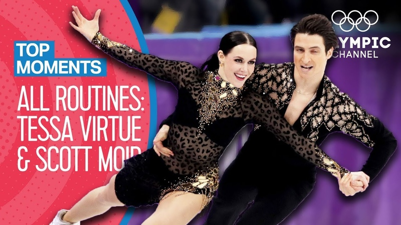 Tessa Virtue Scott Moir - Every Olympic Performance! | Top Moments