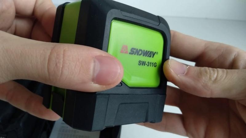 Лазерный уровень SNDWAY SW311G