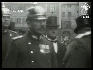 GERMANY: Funeral of Cosiwa Wagner at Bayreuth (1930)