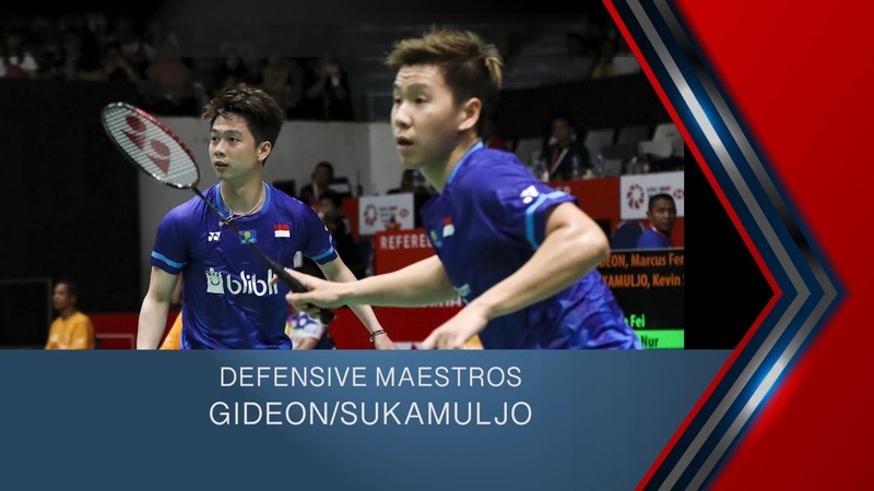Defensive Maestros Marcus Fernaldi Gideon Kevin Sanjaya Sukamuljo BWF 2020