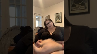 SSBBW Adeline Belly Play 3