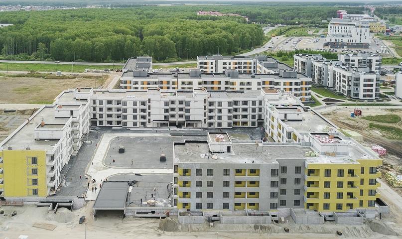 Отчет о ходе строительства ЖК «Ожогино» май 2020, изображение №7