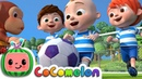 The Soccer Song Football Song CoCoMelon Nursery Rhymes Kids Songs