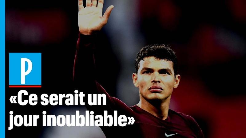 Thiago Silva Je suis venu à Paris pour gagner la ligue des Champions