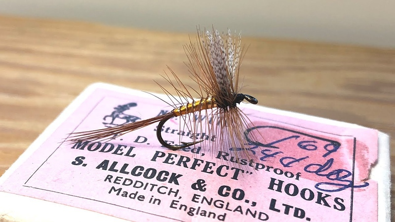 Queen Of Waters Dry Fly Tying Tutorial Palmer Catskill Dry Fly