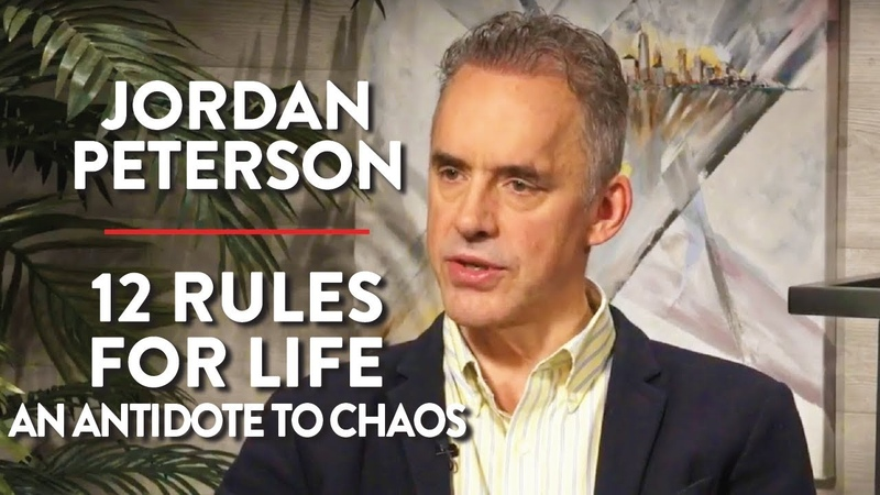12 Rules for Life An Antidote to Chaos Live Q A Jordan Peterson POLITICS Rubin Report
