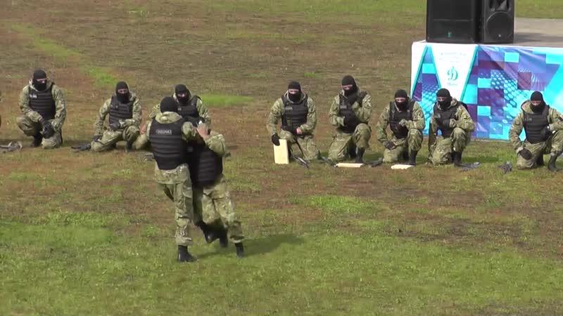 Военно спортивный праздник сотрудников МВД Абакан ч 2