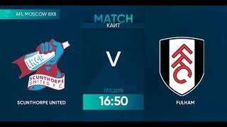 AFL19. England. Championship. Day 14. Scunthorpe United - Newcastle United