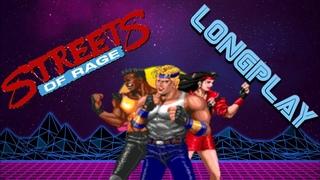 Streets of Rage - Longplay -  2 Players - Adam & Blaze (Sega Rus)