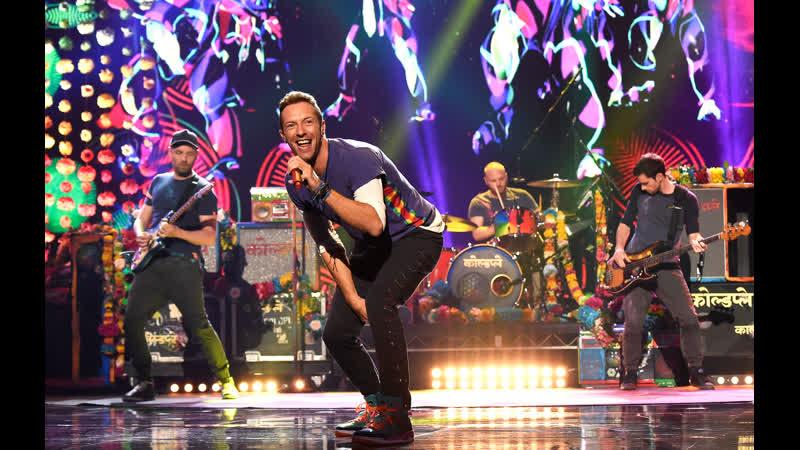 Coldplay Adventure Of A Lifetime Chris Martin Jonny Buckland🎸Guy Berryman♪William Elan Champion