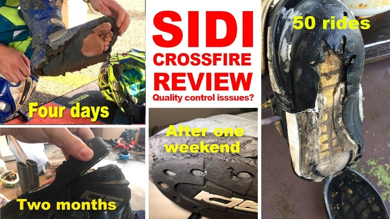 SIDI CROSSFIRE BOOTS REVIEW Quality control problems