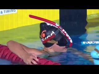 4 x 200m Surface Women Relay  Final 20th Finswimming World Championship 2018 WORLD RECORD