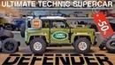 Land Rover Defender LEGO Technic 42110 Подробный обзор Примерка колес и другое