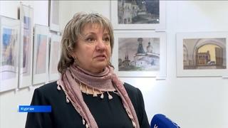 В Курганском художественном музее открылась персональная выставка художника Ольги Луцко