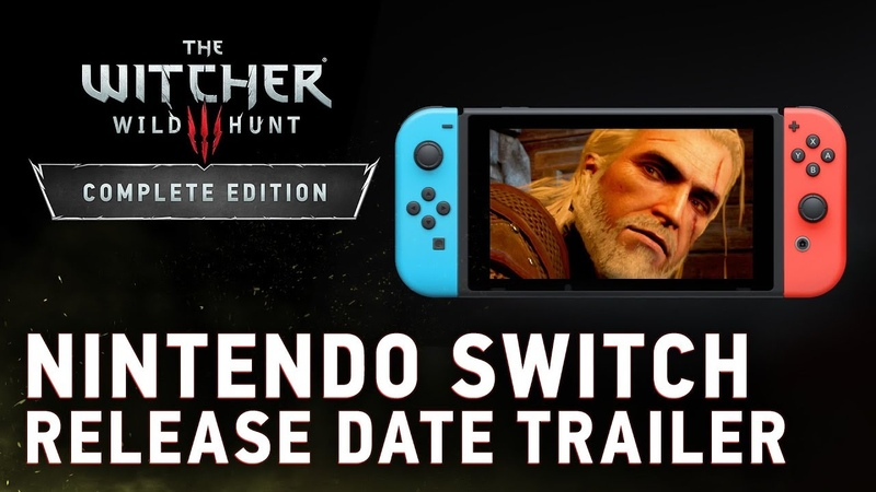 The Witcher 3: Wild Hunt – Complete Edition | Nintendo Switch Release Date Trailer