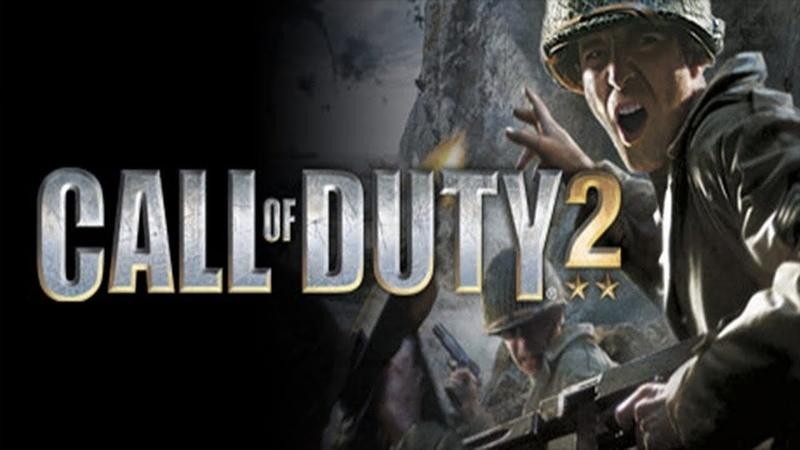 Прохождение Call of Duty 2 без комментариев №17 Военнопленные Clear let's play