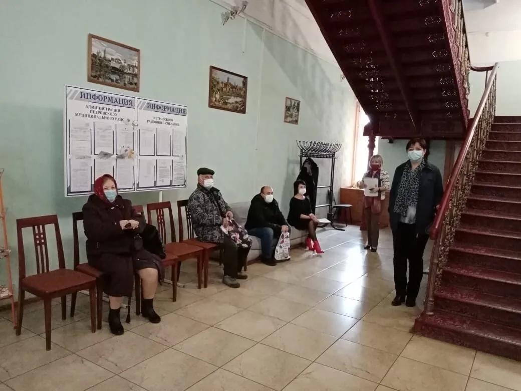 Специалисты юридической клиники СГЮА провели приём в Петровске
