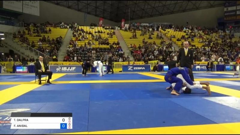 TAINAN DALPRA vs FELIPE ANIBAL 2018 World IBJJF Jiu Jitsu Championship