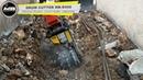 MB R500 Takeuchi TB 290 2 Croatia utility works urban jobsite limestone