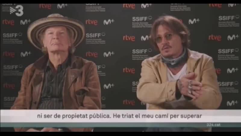 Johnny Depp interview SSIFF68