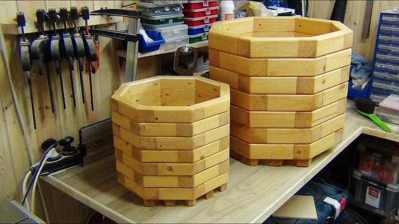Кашпо для цветов DIY Wooden Planter Box Кашпо