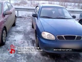 Отомстил за неоплаченную парковку. Охранник проколол колеса припаркованной иномарке.