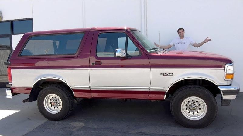 Ford Bronco 1996 года - это последний старомодный внедорожник