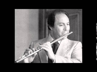Bach Flute Concerto in D minor, Jean-Pierre Rampal