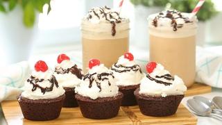 Brownie Bowl Ice Cream Sundaes & My Ultimate Iced Mocha | YouTube Small Biz Day #SupportSmallBiz