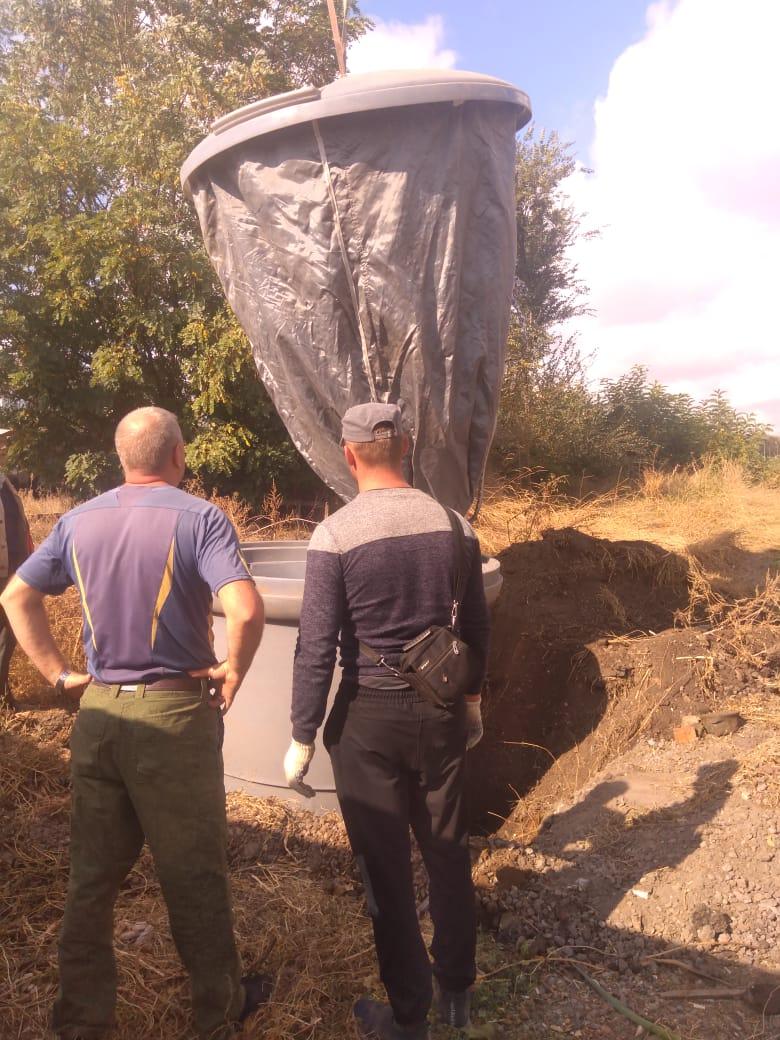 МКУ «Благоустройство»: В Таганроге продолжается установка заглубленных контейнеров