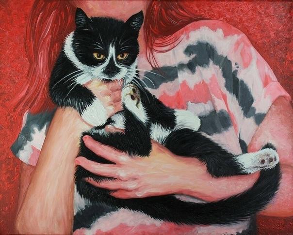 Счастливый неудачник Кот спал с женой. Он упирался в неё спиной и отталкивал меня всеми четырьмя лапами. А утром смотрел нагло и насмешливо. Я ругался, но ничего не мог с этим поделать. Любимец,