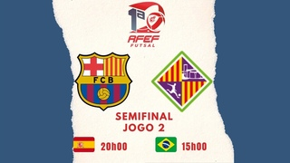 Barcelona vs Palma Futsal - Semifinal (Jogo 2) - RFEF Futsal 2020/2021