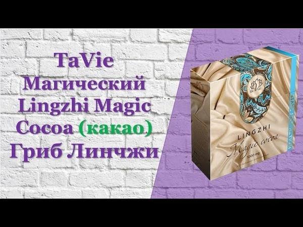 TaVie Магический Lingzhi Magic Cocoa какао Гриб Линчжи
