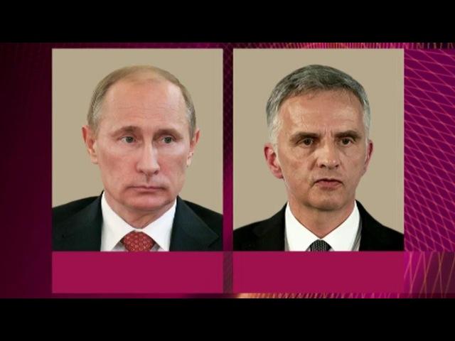 В.Путин и Д.Буркхальтер обсудили ситуацию на Украине с учетом итогов референдумов - Первый канал