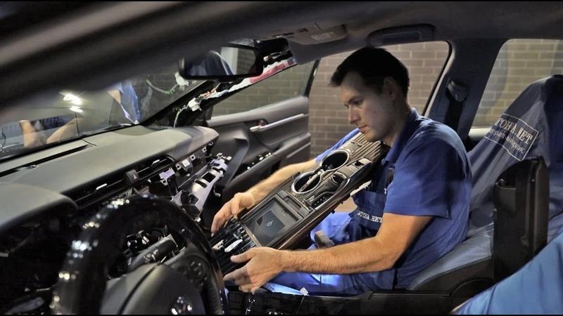 Тойота Камри спутник от дилера и заводская маркировка Уязвимости