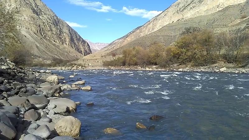3 Река Андийское Койсу не доезжая Агвали, Цумадинский район, ноябрь 2018 | туризм в Дагестане