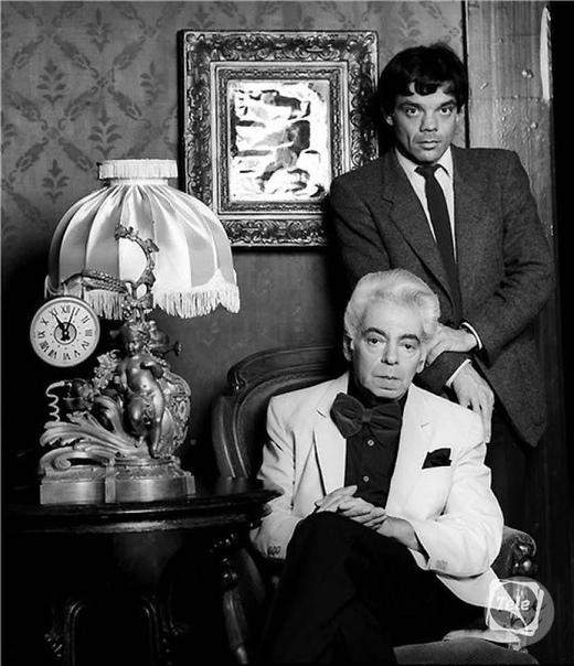 Константин Райкин с отцом... Вам нравится этот актер
