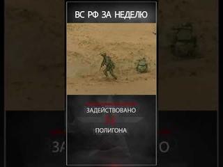 Еженедельный видеоотчет об основных показателях деятельности Вооруженных Сил РФ