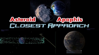 Huge Asteroid Apophis to Fly By Earth Well Within the Ring of Geosynchronous Satellites