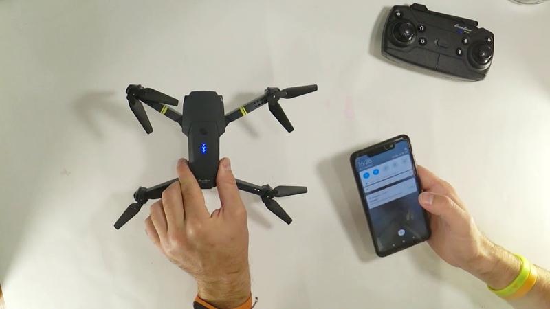 Eachine Е58 как запустить квадрокоптер Подробная видео инструкция