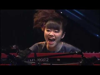 Hiromi Uehara. All her solos in Move Tour. Live in Tokyo. 2014