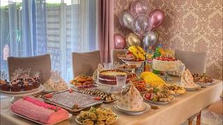 ПРАЗДНИЧНЫЙ СТОЛ УРАЗА БАЙРАМ   ИД АЛЬ ФИТР ✨❤️ как мы праздновали наш праздник